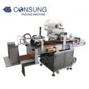 Automatic pouch and bag labeler machine